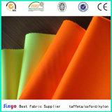 Stof van het Vest van het Neon van de Polyester van 100% 500d de Oranje Eenvormige voor het Gebruik van de Boot