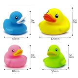 Bonito popular pouco brinquedo plástico do vinil do pato amarelo do banho