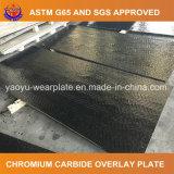 炭化物の版の耐久力のある鋼鉄オーバーレイ