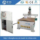 Zylinder-ändernder Scherblöcke hölzerner CNC-Fräser für Verkauf