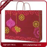 Bolso de papel del regalo de los compradores de Larissa, bolsa de papel de encargo, bolsos de compras del paño, bolsas de papel de las compras