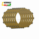 Placas inferiores de la fricción del embrague de la motocicleta de la resistencia de petróleo del desgaste Ww-5330 para Zzr400 Zrx400 Kle 400/500