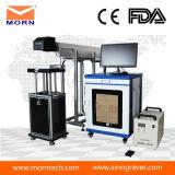 Macchina portatile della marcatura dell'incisione del legno del laser del CO2 della fibra del metallo di Mopa