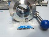 válvula de borboleta apertada sanitária do aço 304/316L inoxidável (ACE-DF-2B)