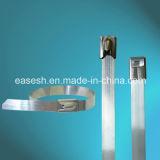 Halb-Überzogene SS-Kabelbinder mit Epoxy/PVC