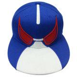 Bonés de beisebol do Snapback com o couro artificial SD02