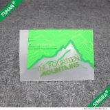 Dos encargo de impresión en color transparente Etiqueta de TPU cuidado de la colada