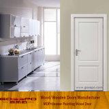 Porta interior de madeira do apartamento do MDF do euro- branco (GSP8-038)