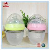 Nahrungsmittelgrad-breite Stutzen-Silikon-Baby-Flasche für neugeborenes 120ml