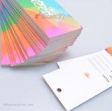 Impressão de cor completa Papel de papelão Fechando Tag para Germant