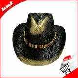 Sombrero de vaquero duro occidental de la paja del sombrero de vaquero del sombrero de vaquero del papel de sombrero de vaquero