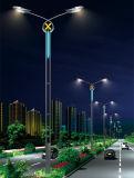 Luz de calle dual de la energía solar LED del brazo del diseño único