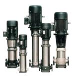 Pompe à haute pression verticale à plusieurs étages centrifuge d'acier inoxydable