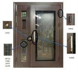 Стеклянная дверь нержавеющей стали конструкции