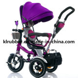 Pneumatic Wheels를 가진 360 도는 Seat Baby Stroller Baby Tricycle