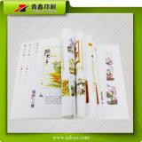 Impresión del libro del compartimiento/surtidor colorido del libro de la impresión
