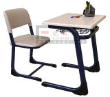 Sf-01f School Furniture Wooden School Student DeskおよびChair