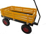 Durable Kids Wagon, Baby Wooden Cart, Tool Wagon Cart