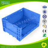 Пластичные складные складывая клети без крышек для супермаркета