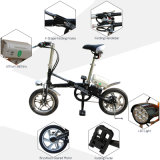 Two Whees Mini Folding Electric Bike Dirt E-Bike para Adultos