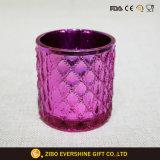 Hochwertiger Glasluftblasen-Pfosten-Kerze-Halter-Großverkauf