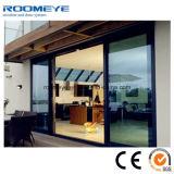Grande alluminio di disegno che fa scorrere il portello esterno di vetro di /Big del portello del patio da vendere