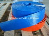 """3/4 constructeur plat étendu par boyau de """" ~14 """" boyaux de PVC Layflat/boyau de débit"""