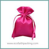 Мешок сатинировки полиэфира мешка подарка Drawstring сатинировки высокого качества