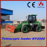 80HP Engineの熱いSale 2016年のNew Telescopic Loader Hy2500