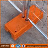 Rete fissa provvisoria galvanizzata della costruzione portatile