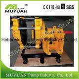 Pompe centrifuge de boue de débordement d'épaississant de traitement minéral