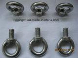 RUÍDO Polished 580 do parafuso de olho do equipamento do aço inoxidável da venda quente para a máquina marinha dos acessórios com ombro
