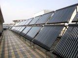 Colector solar partido en Cuba