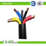 A alta qualidade coloriu o fio elétrico isolado PVC