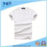 T-shirt rond modal de collet pour des enfants