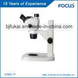 Microscópio estereofónico de confiança da qualidade 0.68X-4.7X Digitas para a microscopia de Traing