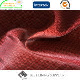 Usine de tissu de garniture du procès de 100 de polyester de garniture hommes de tissu