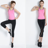 Nylon Yoga Pant Mulheres Legging Fitness Women Tank Top