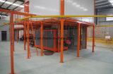 Automatische elektrostatische Puder-Beschichtung-Zeile für Metallprodukte