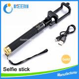 iPhone를 위한 각자 특색 Extendeable 무선 Bluetooth Monopod Selfie 지팡이
