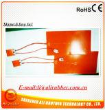 Riscaldatore 500*600*1.5mm 110V 1000W della stampante del silicone 3D con il termostato