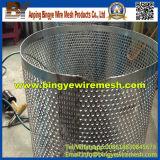O metal de folha galvanizado perfurado/perfurou o metal de folha