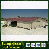 Vor-Ausgeführte Lager-gebrauchsfertige Stahllager-Halle hergestellt in China