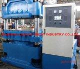 Pressa di vulcanizzazione del piatto di gomma automatico pieno superiore della Cina (CE/SGS/ISO9001)
