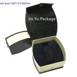 [ج-جب102] أسود ورقيّة مجوهرات هبة [بكينغ بوإكس]