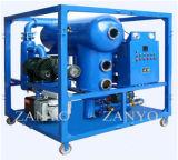 Strumentazione di filtrazione dell'olio del trasformatore di vuoto di alto Effeciency con il vuoto Chember di figura di T
