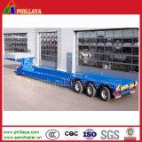 Gooseneck van het Vervoer van de apparatuur de Afneembare VoorAanhangwagens van Lowbed van de Lading Hydraulische Semi