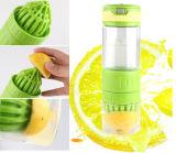 2015新しいデザイン高いホウケイ酸塩レモンJuicerメーカーのガラスビン