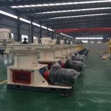 機械を作る米の殻の餌の製造所の餌