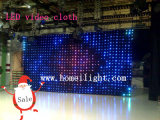LED de visión Cloth LED de visión Cortina LED de visión Telón de fondo